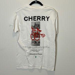 Cherry LA white T-shirt